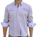 Košile iQ -Dive Club Shirt Grand Bleu blue-white