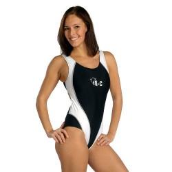Plavky Body Sport iQ-C černo/bílé