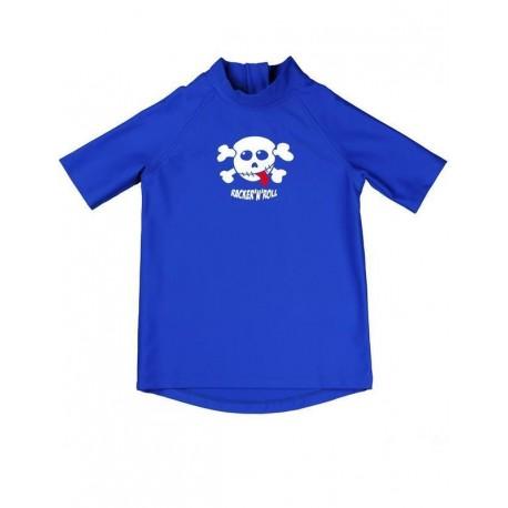 Triko iQ UV 300 Shirt Kids Racky modré