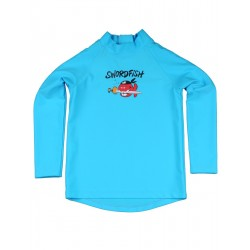 Triko iQ UV 300 Shirt Kids LS Swordfish