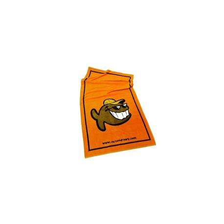 Osuška Fun Fish oranžová