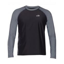 triko UV 300 slim fit bílé