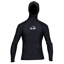 Triko UV 300 Hoodys Černé