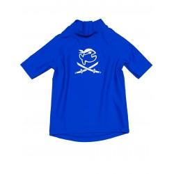 Triko UV 300 Kiddys krátký rukáv (1-6 let) modré