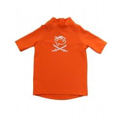 Triko UV 300 Kiddys krátký rukáv (1-6 let) oranžové