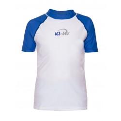 Triko UV 300 Kids krátký rukáv (6-15 let) bílo/modré