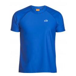 Triko UV 300 loose-fit  krátký rukáv Modré