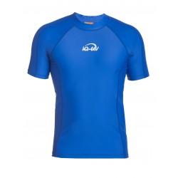 Triko UV 300 slim-fit  krátký rukáv Modré