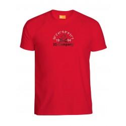 Triko iQ UV 300 T-Shirt Watersport 94 Červené