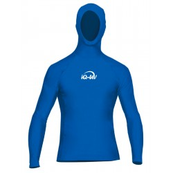 Triko UV 300 Hoodys Modré