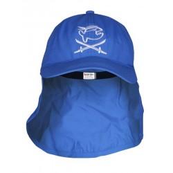 Čepice UV 200  Cap Jolly s ochranou krku dark-blue