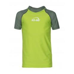 Triko UV 300 Kids krátký rukáv (6-15 let) olive/neon-green