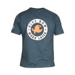 Triko IQ Classic T-Shirt Dive Now black