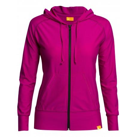 Bunda s kapucí UV  Jacket Women růžová