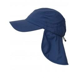 Čepice UV 400+ Cap+Neck s ochranou krku Navy