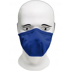 Rouška  IQ Classic 3x každodenní maska dark-blue