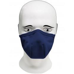 Rouška  IQ Classic 3x každodenní maska navy