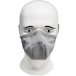 Rouška  IQ Classic 3x každodenní maska cool grey