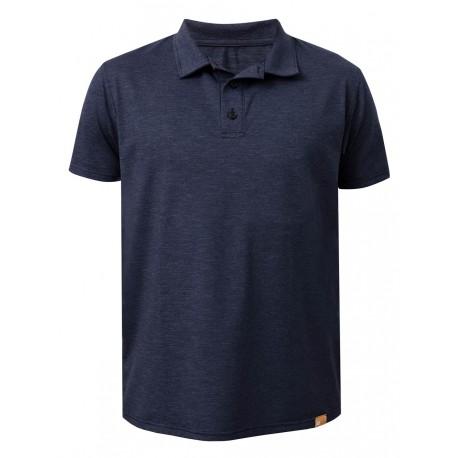 Triko UV FREE Polo krátký rukáv mare blu