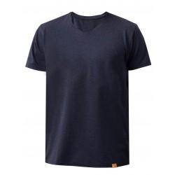Triko UV FREE V krátký rukáv Pánské mare blue